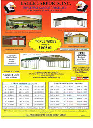 Carport Styles by Carports Tenn Roofing And Siding