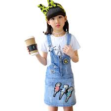 High Waisted Jeans For Kids Popular Kids Jean Skirts Size Buy Cheap Kids Jean Skirts Size Lots