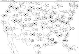 Weather Map Symbols Meteorology 400 800 Home Page