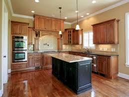 what paint colors look best with maple cabinets 40 best kitchen wall paint colors in your home freshouz