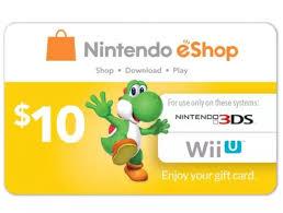 digital play gift card 10 nintendo eshop gift card digital delivery slickdeals net