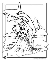 coloring page killer whale killer whale and baby coloring page animal jr