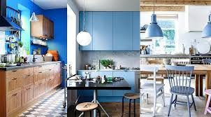 deco cuisine cuisine bleu 25 idées déco cuisine bleue