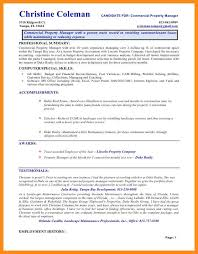 Property Management Resume 14 Commercial Property Manager Resume Riez Sample Resumes