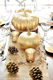 Fall Wedding Table Decor Decorating For Fall Parties With Pink And Gold Pumpkins