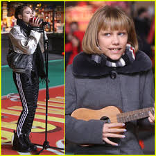 daya grace vanderwaal rehearse for tomorrow s macy s