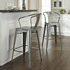 crosley furniture crosley furniture amelia 30 metal bar stool in