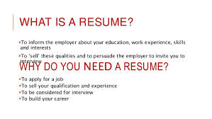 What Is An Resume What Is A Resume Cv Resume Templates