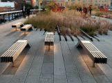 simple park bench designs park bench design 3d render stock photo