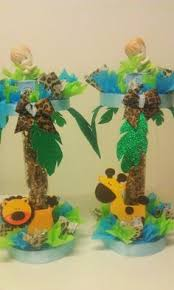 Safari Baby Shower Centerpiece by Jungle Theme Baby Shower Centerpieces Jungle Safari Or