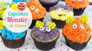 monster lemon cupcakes halloween ideas youtube