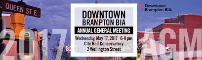 staff meeting invitation email downtown brampton bia annual general meeting downtown brampton bia