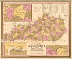Louisville Map Antique Maps Of Kentucky