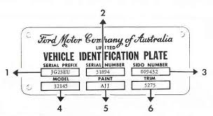 ford u2013 vehicle identification xp vin only xpfalcon