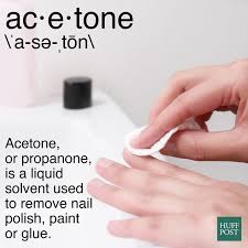 what the heck is acetone and how does it affect your nails