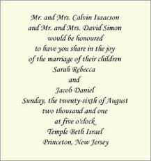 traditional wedding invitation wording wedding invitation wording both parents amulette jewelry