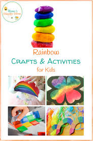 st patrick u0027s day rainbow crafts and activities for kids