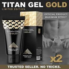 titan gel gold limited edition official product by hendel 2 x 50
