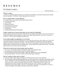 what is the objective on a resume leadership resume free resume example and writing download team leader resume leadership skills on resume leadership resume throughout leadership resume