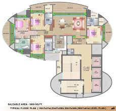 lokhandwala infrastructure victoria floor plans house 3rd level