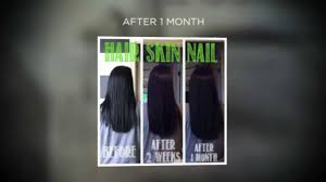 it works hair skin nails youtube
