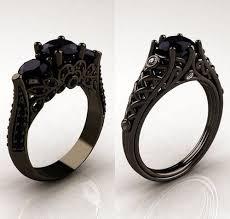 black ring best 25 black rings ideas on black jewelry black
