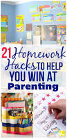 Kids Homework Station by 21 Homework Hacks To Help You Win At Parenting The Krazy Coupon Lady