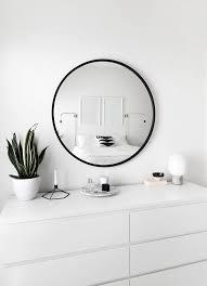 round bathroom mirror beige chaise lounge sofa round metal base