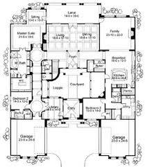Mediterranean House Plans With Courtyard 244 Best Dream House Images On Pinterest Architecture Haciendas
