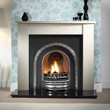artisan clayton highlight arch cast iron fireplace