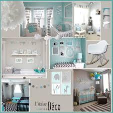chambre bébé gris et turquoise chambre bebe gris bleu 1 chambre b233b233 latelier de la d233co