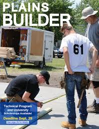 2017 september plains builder by home builders association of f m