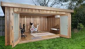 garden music a casuta gradina a garden gym luxury garden sheds