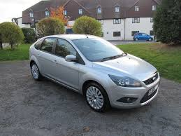 ford focus titanium 1 6 2009 silver 59 plate low mileage