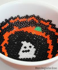 melted bead halloween candy dish craft where imagination grows