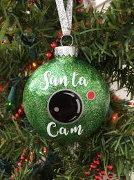 santa cam ornament santa spy camera christmas ornament santa