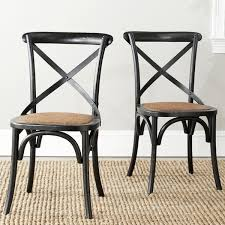 Black Dining Chairs The Gray Barn Pitchfork Antique Black Farmhouse Dining Chairs Set