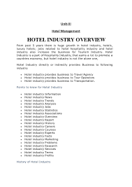 Resume Samples Hospitality Management by Career Objective For Hotel Industry Corpedo Com