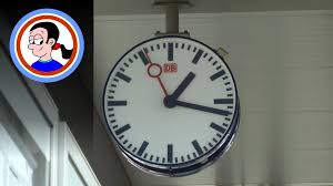 Weird Wall Clocks by Station Clocks Things You Find In Germany Youtube