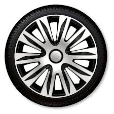 nissan micra wheel trims nardo 14 inch 15 inch 16 inch wheel trims silver black amazon