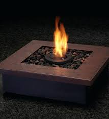 Real Flame Fire Pit - ledgestone tabletop gel fuel fireplace fuoco fire pit modern