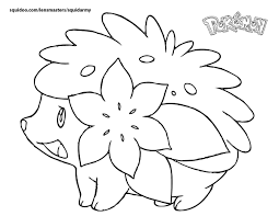 pokemon images to color coloring free coloring pages