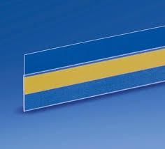 scaffali prezzo porta prezzo adesivo trasparente etichette x scaffali h30