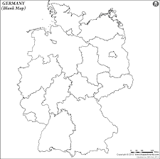map of germny germany outline map blank map of germany