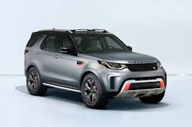 silver land rover discovery land rover discovery svx 2018 revealed in frankfurt car news
