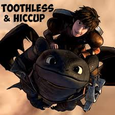 draw hiccup toothless train dragon