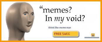 Meme Man - surreal meme man social media la