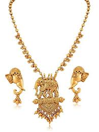 fashion jewellery necklace sets images Youbella fashion jewellery gold plated bahubali traditional jpg