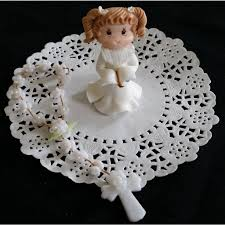 girlsfirst communion favors first communion cake topper boy