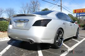 nissan maxima with rims nissan maxima with 22in lexani r twelve wheels exclusively from